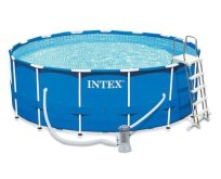 Bazén Intex 28242 Metal Frame Pool Set 457x122cm