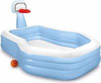 Hrací centrum/bazén Intex 57183 Basketbal 257x188x130cm