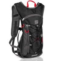 Cyklistický a běžecký batoh Spokey Fuji 5l černý