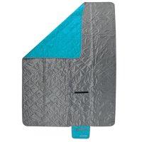Kempingová deka Spokey Canyon šedo/modrá