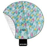 Pikniková deka Spokey Picnic Flamingo průměr 150cm
