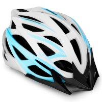Cyklistická přilba Spokey Femme bílá 55-58cm