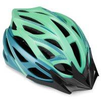 Cyklistická přilba Spokey Femme zelená 58-61cm