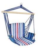 Houpací křeslo Sedco Relax modro-bílá 103x56cm