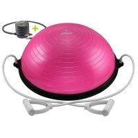 Balanční podložka Lifefit Balance Ball 58cm růžová