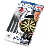 Šipky Steel Harrows Eric Bristow's Silver Arrows 18, 22, 26g R