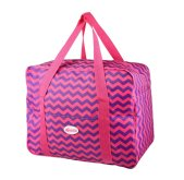 Plážová termotaška - chladící taška Kasaviva 34l růžová