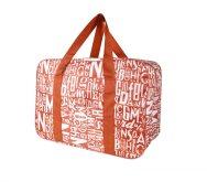 Plážová termotaška - chladící taška Kasaviva 7l červená