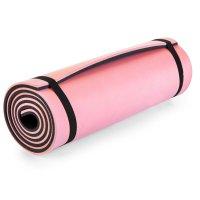 Karimatka Spokey Campions XPE 2 vrstvy černo-růžová 1cm