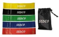 Odporová fitness aerobic guma Sedco Set 5ks