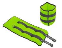 Neoprenová zátěž Lifefit kotník/zápěstí S2 sv. zelená 2x4kg