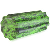 Fitness masážní válec měkká pěna Spokey Soft Roll zeleno/šedý