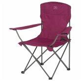 Skládací židle s opěrkami Highlander Moray fialová