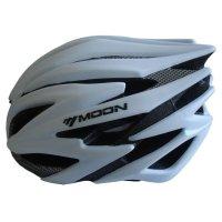 Cyklistická helma Acra stříbrná velikost L (58-61cm)