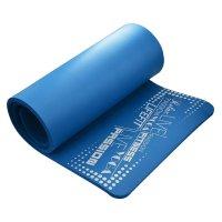 Podložka Lifefit Yoga Mat Exkluziv Plus modrá 1,5cm