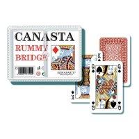 Hrací karty Canasta Bonaparte v plastové krabičce
