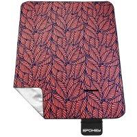 Pikniková deka s popruhem Spokey Picnic Leaf 180x210cm