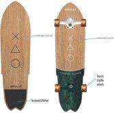 Skateboard Spartan Cruiser Board 70cm