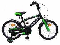 Dětské kolo AMIGO BMX Fun černá/zelená 16