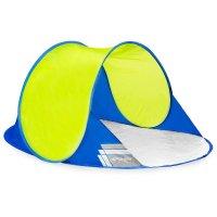 Samorozkládací outdoorový paravan Spokey Altus modro-žlutý