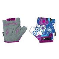 Dětské cyklistické rukavice Spokey Blue Glove vel.S