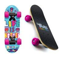 Skateboard dětský Mini board Trolls 17 palců