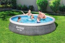 Bazén samostavěcí Bestway 57376 396x84cm s filtrem