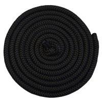 Gymnastické švihadlo Acra 3m černé