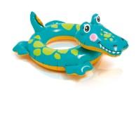 Plavací kruh Intex 58221 Zvířata krokodýl 71x56cm