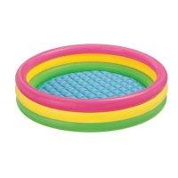 Nafukovací bazén Intex Soft dno 114x25cm