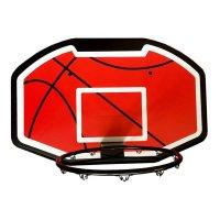 Basketbalová deska + koš + síťka 110x70cm