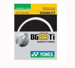 Badmintonový výplet Yonex BG 65 Ti 10m