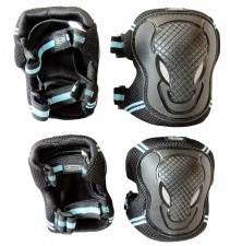 Chrániče kolen a loktů Micro - S černé