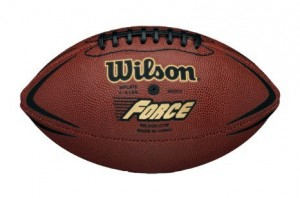 Míč na americký fotbal Wilson NFL Force Official Deflat