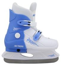 Hokejové roztahovací brusle Acra vel. 29 - 32 modré