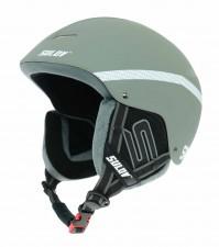 Lyžařská a snowboardová helma SULOV SPHARE, stříbrná mat