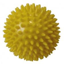 Míček masážní ACRA průměr 9 cm žlutá