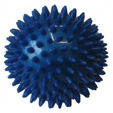Masážní míček Acra průměr 7,5cm modrá