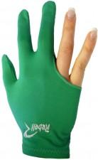 Kulečníková rukavice Rebell zelená - universal
