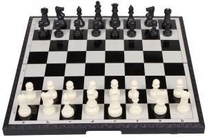 Šachy magnetické skládací