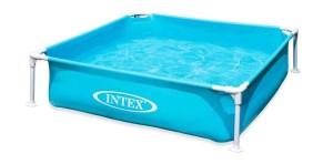 Bazén skládací Intex modrý mini 122x122x30cm