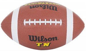 Míč na americký fotbal Wilson Official Rubber Football