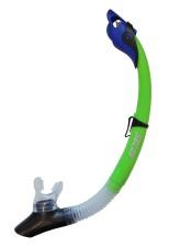 Šnorchl Calter Adult Silicon zelený