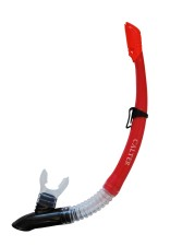 Šnorchl Calter Adult 63PVC Silicon červený