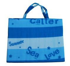 Plážová podložka - lehátko Calter 1,5cm modrá