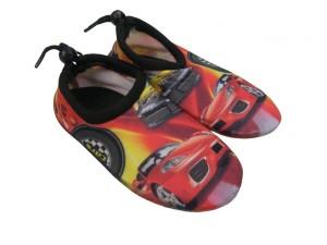 Dětské boty do vody Aqua Surfing Cars