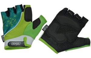 Cyklistické rukavice Truly Top Missy - zelená