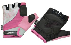 Cyklistické rukavice Truly Top Missy - růžová
