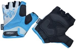 Cyklistické rukavice Truly Top Missy - modrá