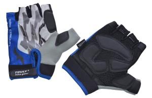 Cyklistické rukavice Truly Top NX3Gel - modrá